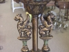 Antique Griffin Floor lamp