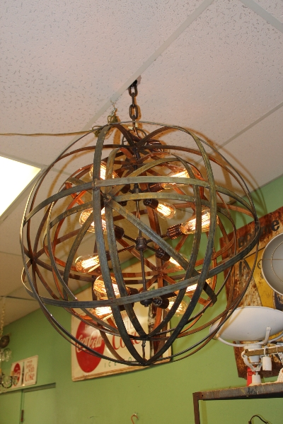 industrial-sphere-chandelier-metal-strap-globe-hanging-light-with-12-thomas-edison-bulbs-3
