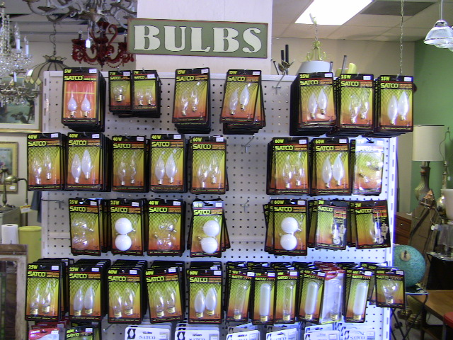 Light Bulbs | Light Bulbs for Antiques that are Unique or Hard to Find