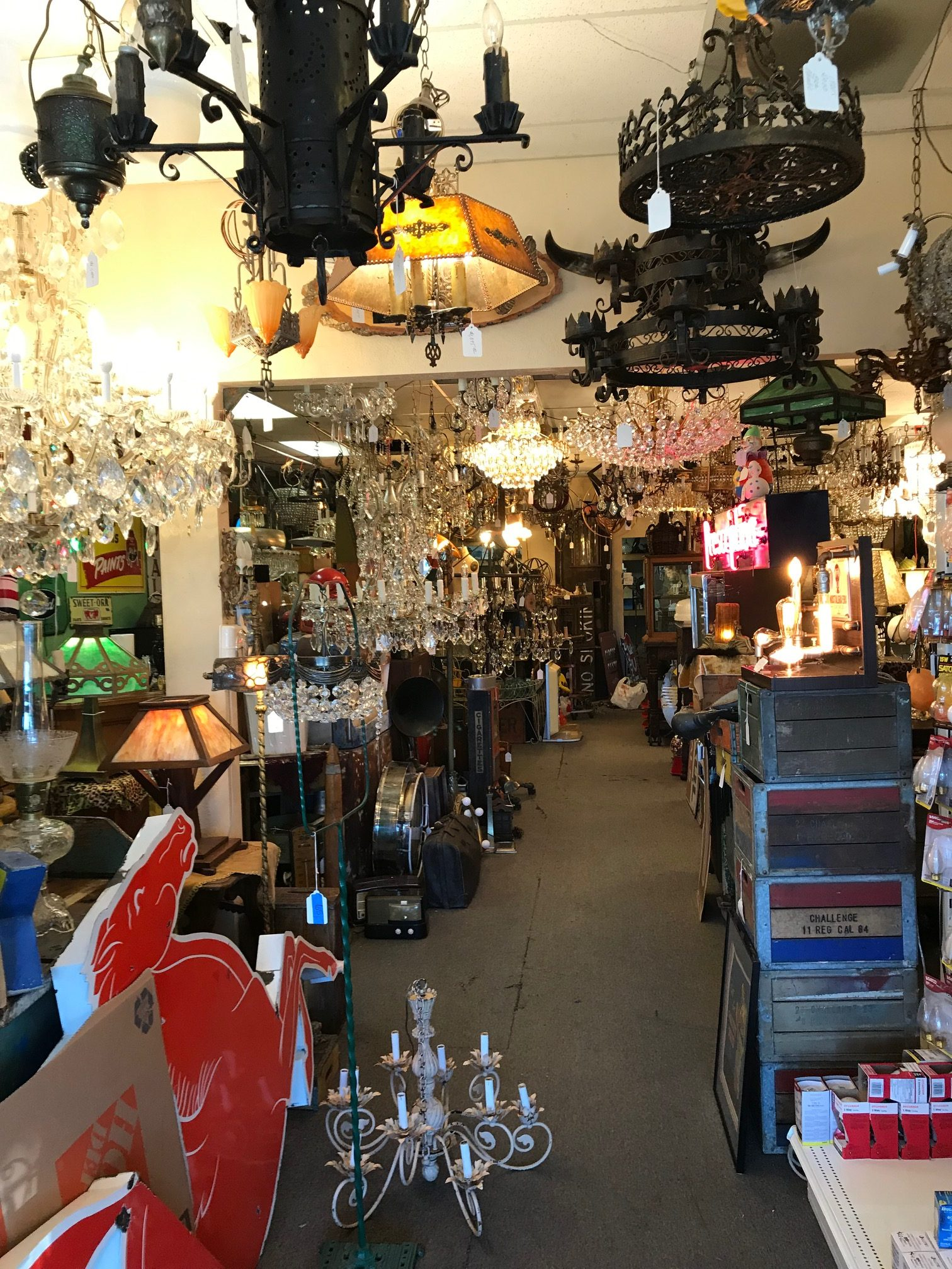 Antiques in Sacramento CA at The Lighting Palace (2)